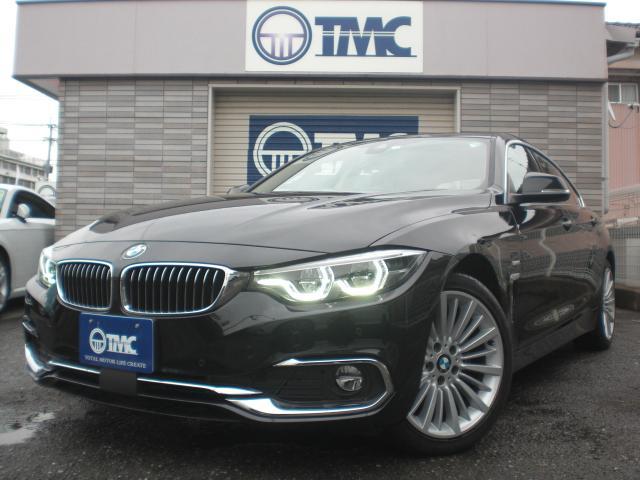 BMW 420iグランクーペ ラグジュアリー ナビ TV 黒革