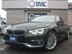 BMW420iグランクーペ ラグジュアリー ナビ TV 黒革