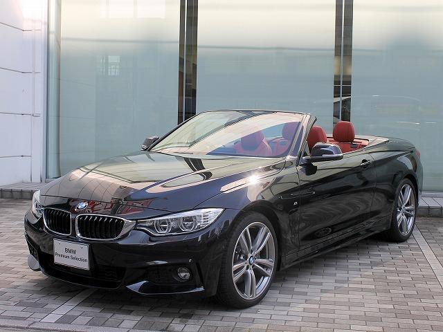 BMW 435iカブリオレ MスポーツLEDヘッド19AW赤革