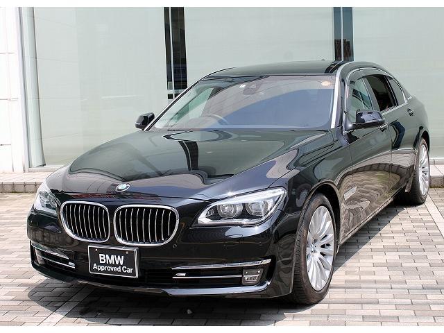 BMW アクティブハイブリッド7L LED SR 茶革 車線逸脱