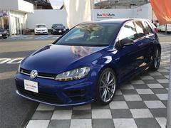 VW ゴルフRカーボンスタイル ブラックレザー 6速MT 認定中古車