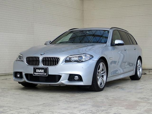 BMW 523dツーリング Mスポーツ 後期 OP19Aw 黒革