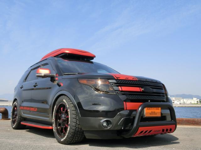 フォード XLT 2.0エコブースト CARBOXデモカー ローダウン