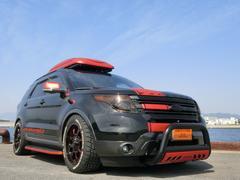 フォード エクスプローラーXLT 2.0エコブースト CARBOXデモカー ローダウン