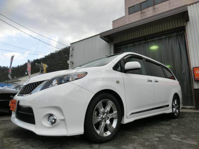米国トヨタ SE 3.5L 新車並行 当社販売 顧客下取り SR ナビ