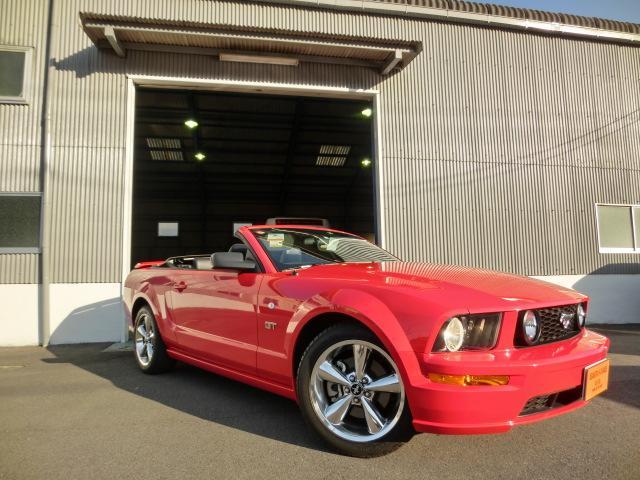 フォード V8 GTコンバーチブル プレミアム 正規ディーラー車