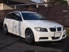 BMW335iツーリング Mスポ M3アルミ アーキュレーマフラー