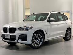 BMW X3xDrive 20i Mスポーツ 弊社試乗車 純正19インチ