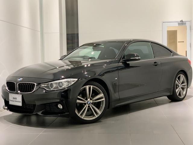 BMW 420iクーペ Mスポーツ ワンオーナー 禁煙 19インチ