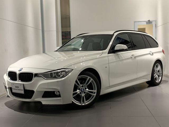 BMW 320dツーリング Mスポーツ 純正HDDナビ バックカメラ