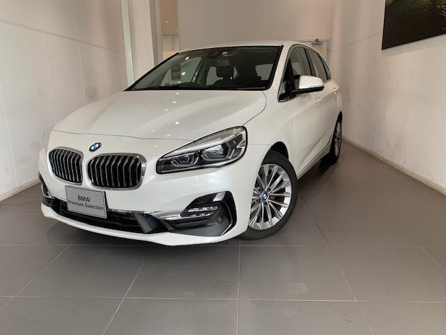 BMW 218dアクティブツアラー ラグジュアリー ACC 電動リヤゲート HUD レザーシート