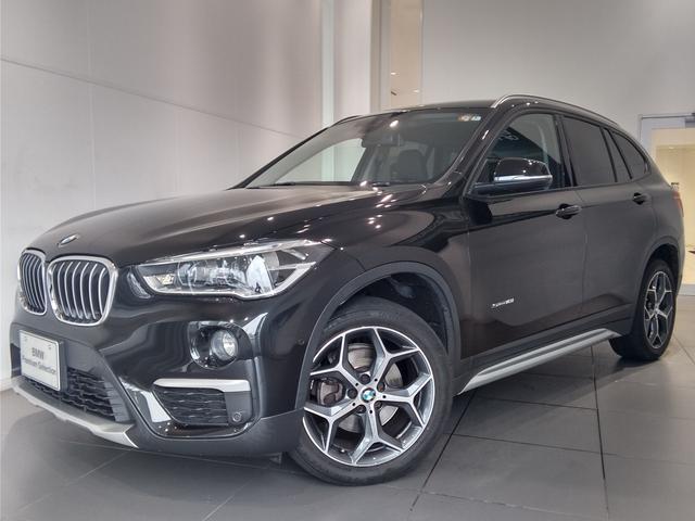 BMW X1 sDrive 18i xライン 純正ナビ LED バックモニター ハーフレザー アンビエントライト Bluetooth