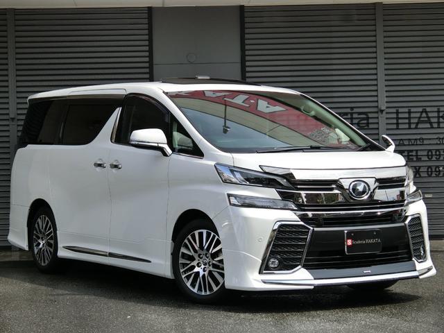 トヨタ 2.5Z Gエディション Wサンルーフ 10インチナビTV