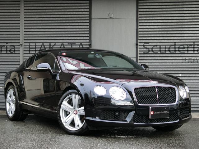 ベントレー GT V8 ディーラー車 黒革シート 禁煙車