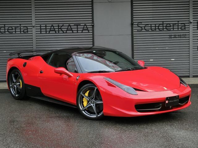 「フェラーリ」「458イタリア」「クーペ」「福岡県」の中古車