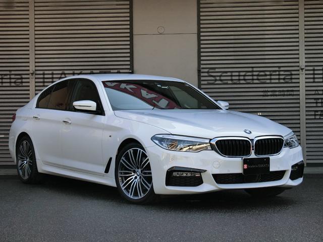 BMW 523d Mスポーツ 黒革シート ワンオーナー 禁煙車