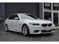BMW523i Mスポーツ後期 黒革シート ACC パドルS