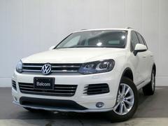 VW トゥアレグV6 サンルーフ 本革シート アラウンドビューモニター