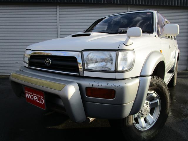 トヨタ SSR-Xリミテッド ワイド 3.0DT-B ナビサンルーフ