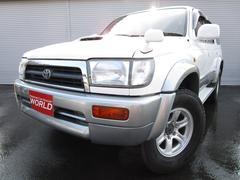 ハイラックスサーフSSR−Xリミテッド ICターボ 4WD 背面タイヤ