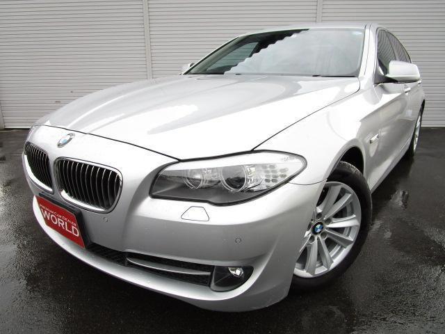 BMW 523d ハイライン HDDナビフルセグ 黒本革シート