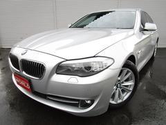 BMW523d ハイライン HDDナビフルセグ 黒本革シート