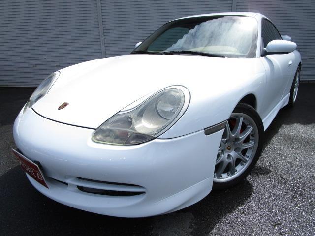 ポルシェ 911カレラ GT3仕様 茶革シート HDDナビフルセグ