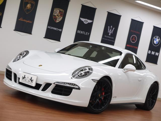 ポルシェ 911カレラGTS D車 カーボンインテリア スポーツエグゾ