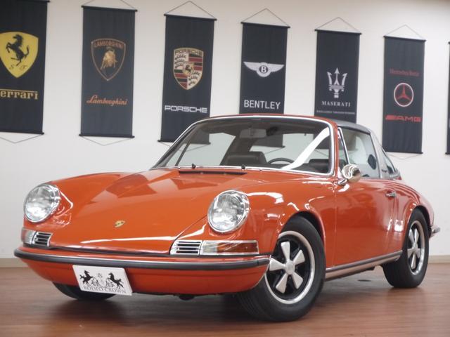 ポルシェ 911Sタルガ 1969年モデル レストア済み
