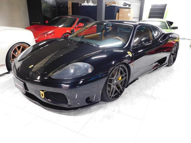 フェラーリ モデナF1 OZレーシング19アルミ タンレザー