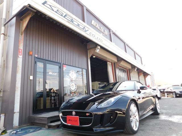 ジャガー V8 S コンバーチブル アクティブスポーツエクゾースト