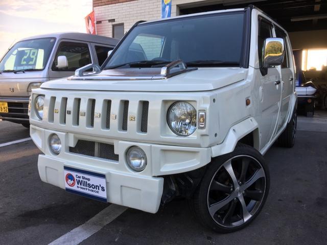 ダイハツ G 4WD カスタム仕様 ロクサーニ16AW ナビTV
