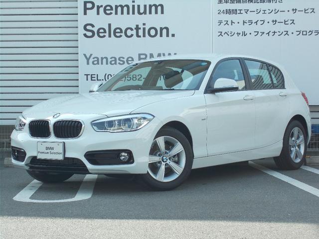 BMW 118d スポーツ デモカー パーキングサポートP