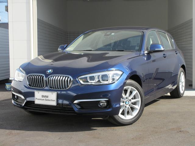 BMW 118d スタイル 登録済未使用車 パーキングサポート