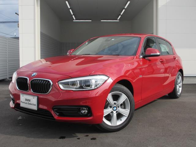 BMW 118d スポーツ 登録済未使用車 スマートキー カメラ