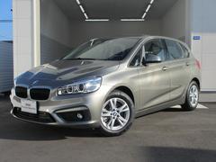 BMW218dアクティブツアラー 登録済未使用車 タッチパネル機能
