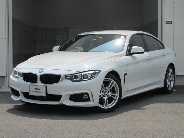 BMW 420iグランクーペ Mスピリット レンタカーアップ アクティブ・クルーズ・コントロール フロント・リヤPDC 18インチホイール 衝突回避・被害軽減ブレーキ