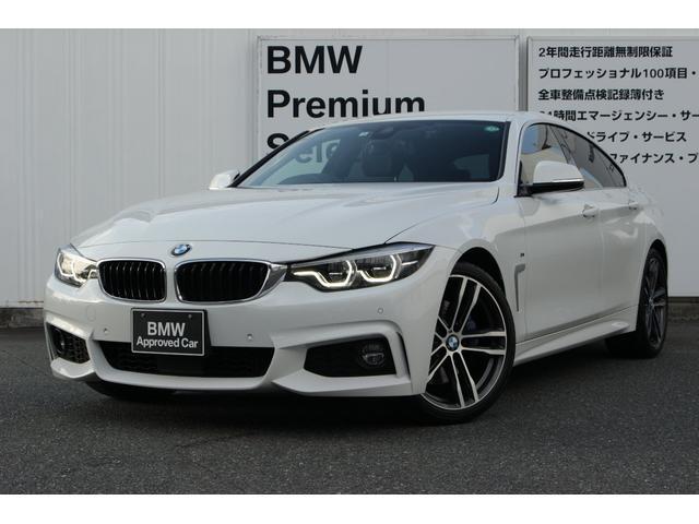 BMW 420iグランクーペ インスタイルスポーツ 1オーナー 限定車 19インチホイール ブラックレザー TVチューナー アクティブ・クルーズ・コントロール ヘッドアップディスプレイ レーンチェンジワーニング
