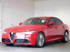 アルファロメオ ジュリアヴェローチェ RHD 黒レザー 新車保証継承 ETC