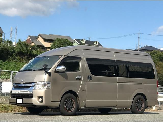 トヨタ SロングワイドDX キャンピング FFヒーター 外部電源装備