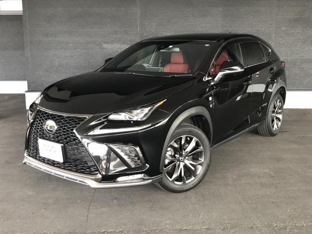 レクサス NX300 Fスポーツ LSS+PSB AHS 本革 喫煙車