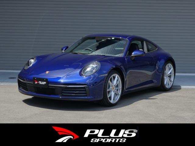 ポルシェ 911 カレラ4 正規D車 ゲンチアンブルーメタリック PDK スポーツクロノPKG インテリアPKG 14wayパワーシートメモリーPKG BOSEサラウンドサウンドシステム