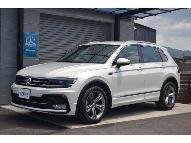 """フォルクスワーゲン ティグアン TSI Rライン Volkswagenオールイン・セーフティ/Discover Pro/Active Info Display/Keyless Access/19""""専用AW/LEDライト/専用ハーフレザーシート"""
