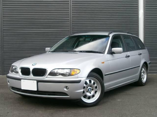 BMW 318iツーリング 後期 純正アルミ 純正キーレス ABS