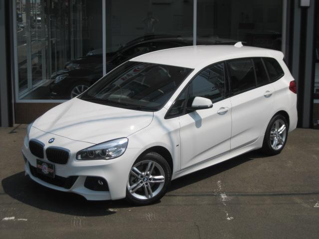 BMW 218d xDriveグランツアラー Mスポーツ 登録未使用