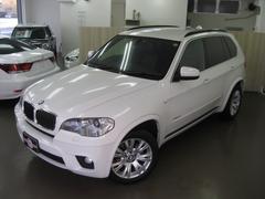 BMW X5xDrive 35i Mスポーツパッケージ 黒革 純正ナビ