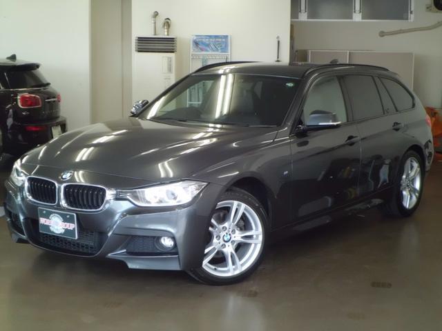 BMW 320i xDriveツーリング Mスポーツ 黒革 インテリジェントセーフティ シートヒーター 純正ナビ バックカメラ コンフォートアクセス