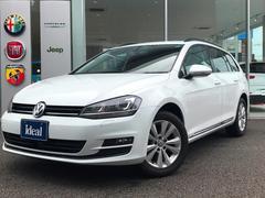 VW ゴルフヴァリアントTSIコンフォートラインBMT フルセグ純正ナビ キセノン