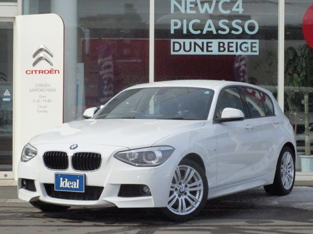 BMW 116i Mスポーツ 純正HDDナビ キセノン スマートキー