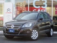 VW ティグアンスポーツ&スタイル 電動黒革 フルセグHDDナビ キセノン